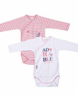 Pack 2 bodys bebé adorable de Absorba