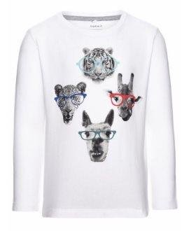 Camiseta animales gafas Teik Mini de Name it