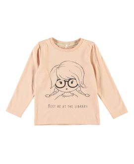 Camiseta niña gafas Fenka Mini de Name it