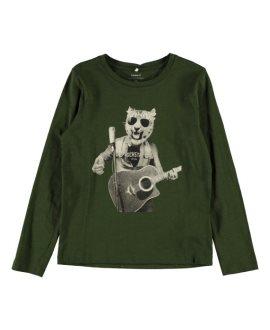 Camiseta tigre rockero Kiger Kids de Name it