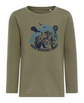 Camiseta zorro/tractor Victor Mini niño de Name it