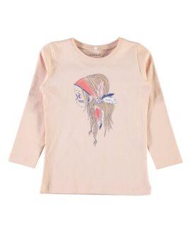 Camiseta osito/india Veen Mini de Name it