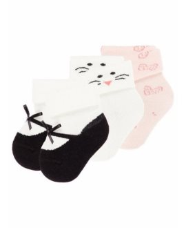 Pack calcetines Etballerina bebé de Name it