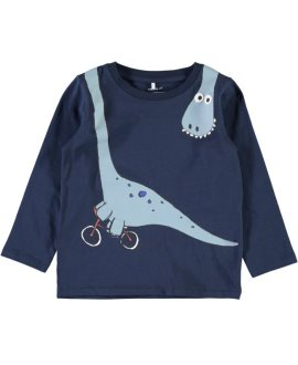 Camiseta dino bici Eto Mini de Name it