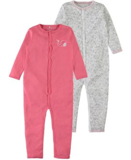 Pack pijamas elefante coral Mini de Name it