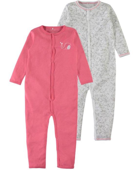 Pack pijamas elefante coral Mini de Name it