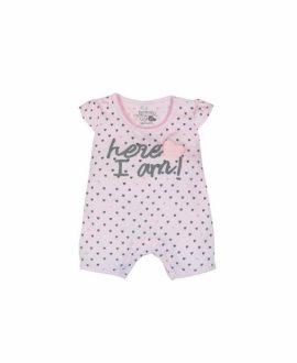 Pelele punto corazones de bebé de Boboli