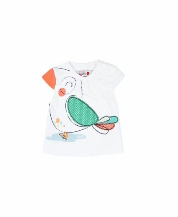 Camiseta loro bebé niña de Boboli