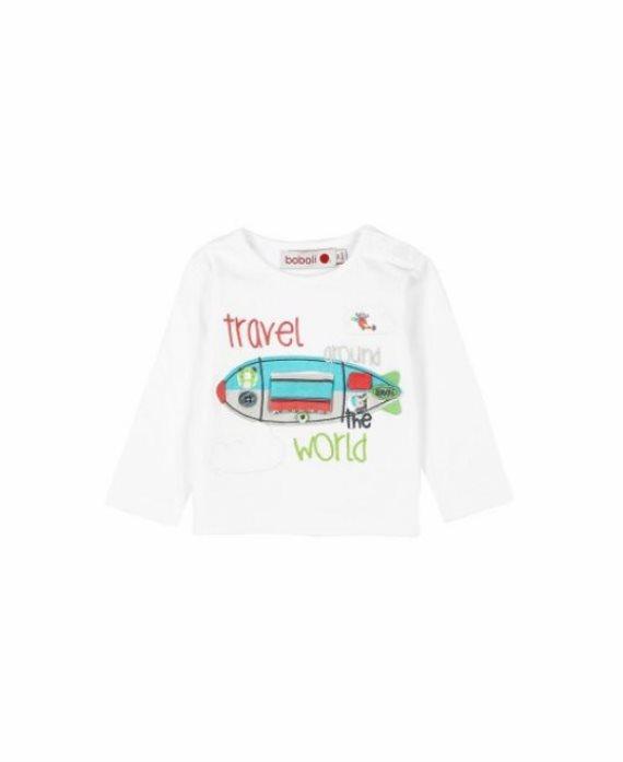 Camiseta avión bebé de Boboli