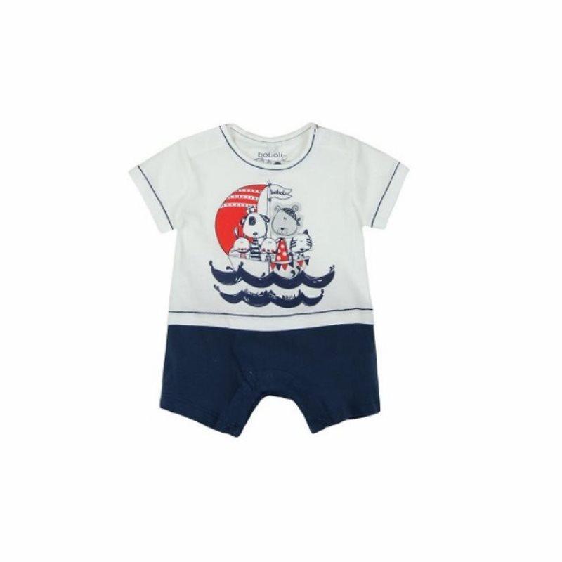 177b05c2d Pelele corto piratas bebé niño de Boboli