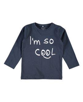 Camiseta mensaje Damsko Mini de Name it