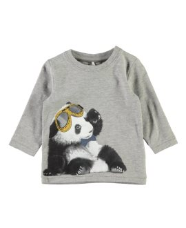 Camiseta panda Damus bebé de Name it
