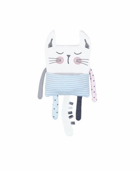 Muñeco doudou punto gatito de Boboli