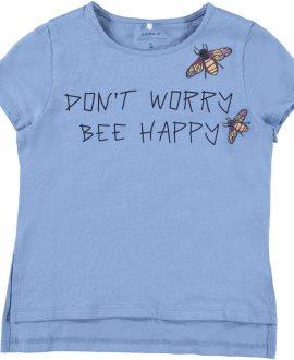 Camiseta insectos Homora Kids de Name ti - Silver Lake Blue