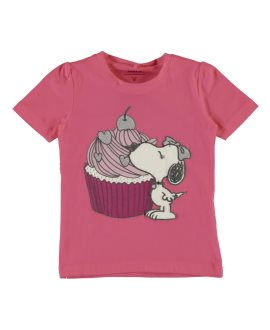 Camiseta Snoopy Dalia Mini de Name it