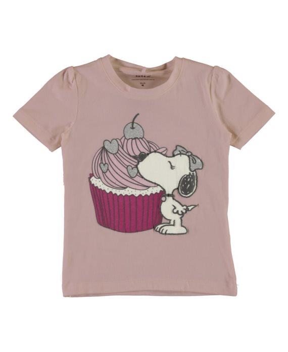 Camiseta Snoopy Dalia Mini de Name it