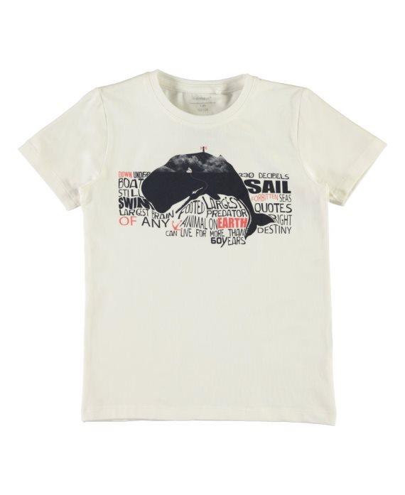 Camiseta ballena/puerta Vux Name it