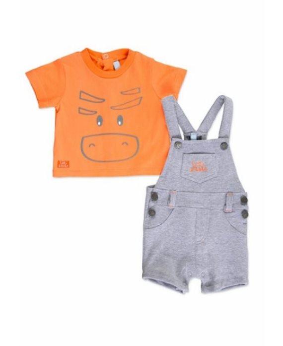 Conjunto camiseta y peto bebé de Losan