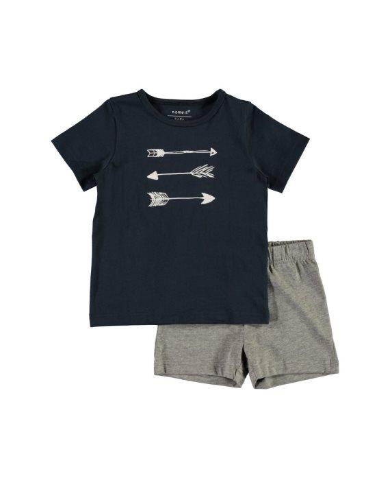 Pijama corto flechas Mini de Name it