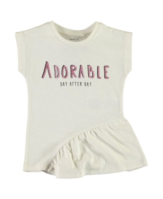 Camiseta volante Fababba Mini de Name it