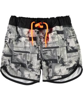 Bañador short surfero Zigzag de Name it