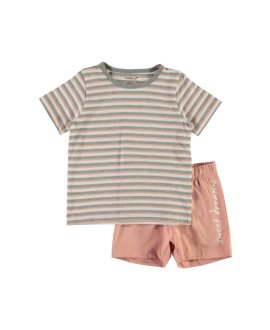 Pijama corto rayas Nightset Mini de Name it