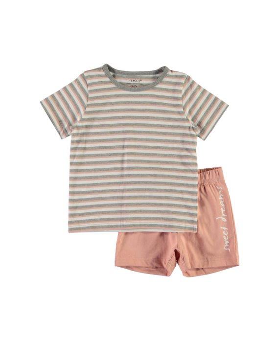Pijama corto rayas Nightset Mini de Name it