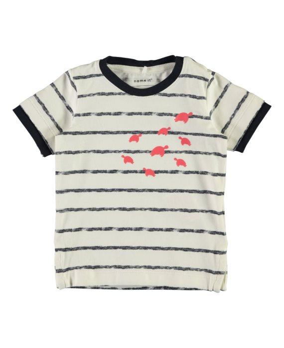Camiseta tortugas Faril bebé de Name it