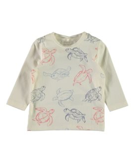 Camiseta tortugas Famiturtle bebé de Name it