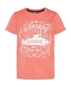 Camiseta submarino Ike Kids de Name it