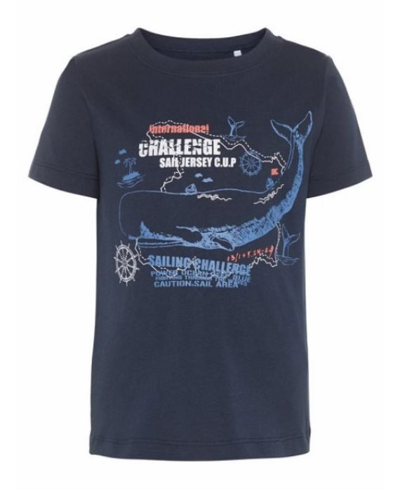 Camiseta pesca/ballena Victor de Name it