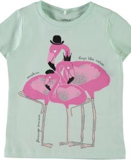 Camiseta flamencos/loros Sanni de Name it