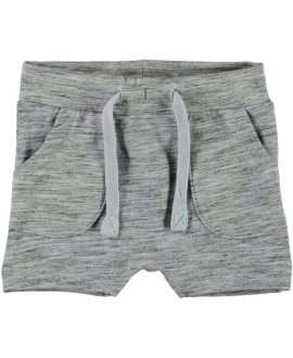 Bermudas jaspeadas Game bebéde Name It - Cashmere Blue