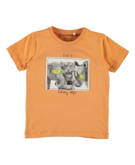 Camiseta animales Gallode Name It - Copper Tan