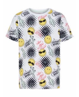 Camiseta emoji Happy Sofus de Name It