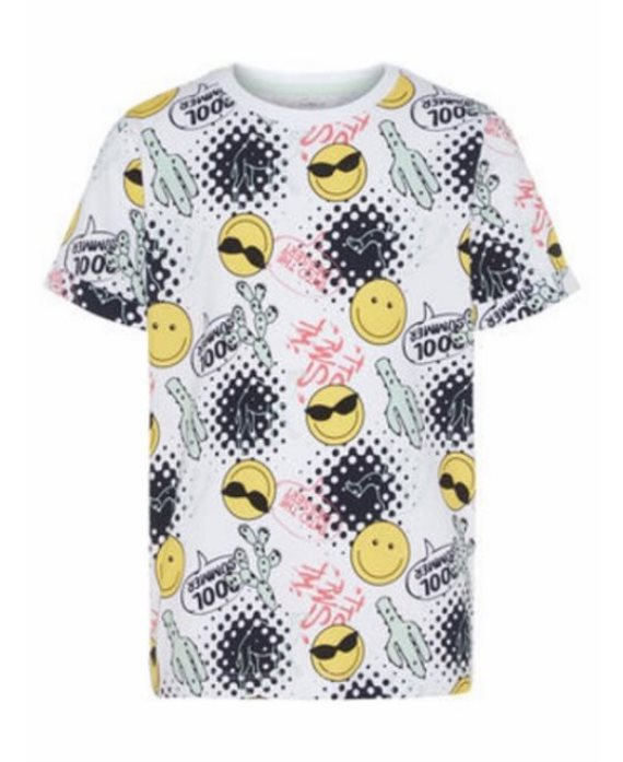 Camiseta emoji Happy Sofus de Name It